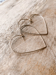 Large Amour Hoops