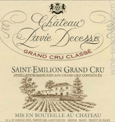 Chateau Pavie-Decesse St Emillion Grand Cru 1999