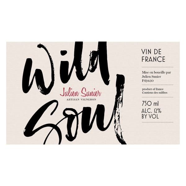 Julien Sunier Wild Soul Beaujolais-Villages 2018