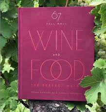 67 PALL MALL WINE AND FOOD BOOK