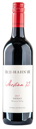 JJ Hahn 'Section 72' Shiraz 2018