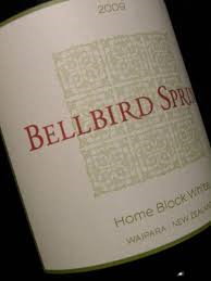 Bellbird Springs Home Block White 2015