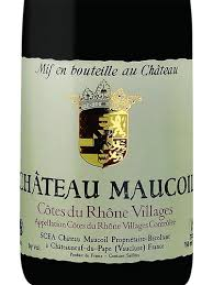 Chateau Maucoil Cotes du Rhone Villages 2015
