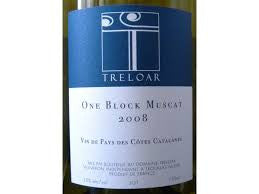 Treloar 'One Block Muscat' 2012