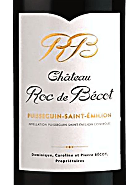 Chateau Roc de Becot Puisseguin-Saint-Emillion 2016