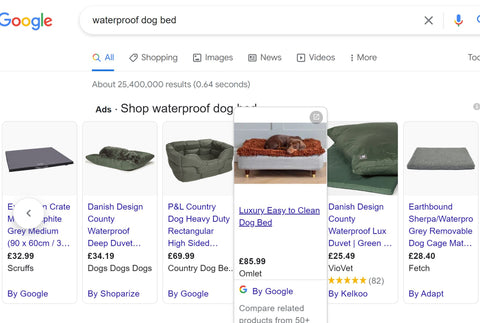Shopping with a CSS