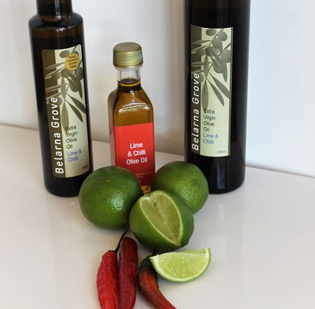 Lime and chilli olive oil