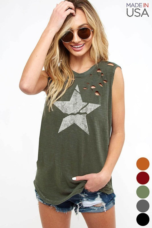 Stargazer Graphic Tank