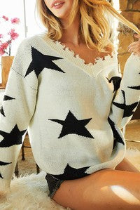 Melrose Star Sweater