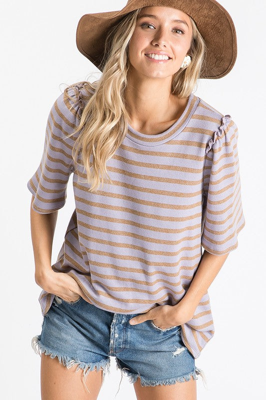 Lyla Striped Top