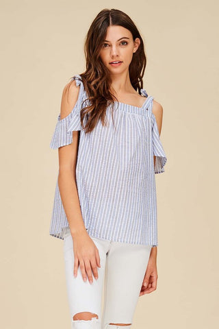 Tatum Cold Shoulder Top