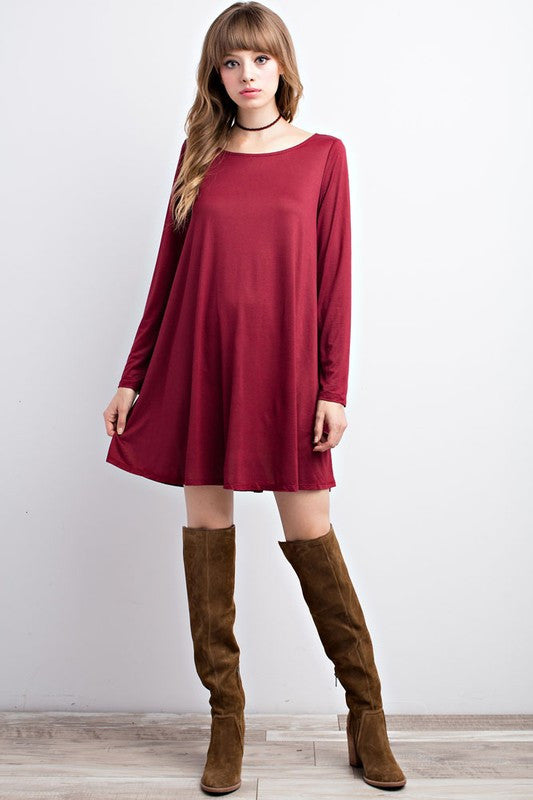 Cross Back Pocket Tunic