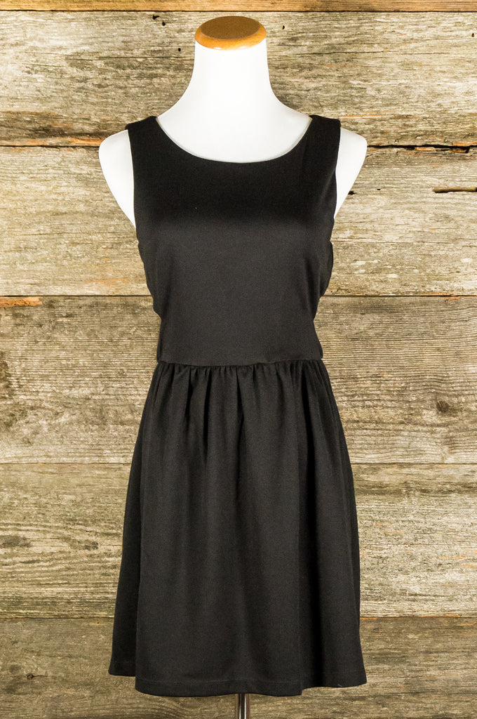 Fit and Flair Little Black Dress