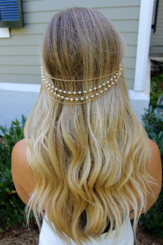 Pearl Head Chain - Headbands of Hope