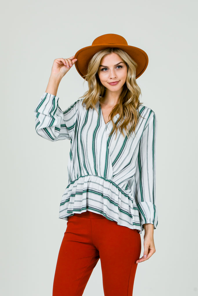 Kerry Striped Top