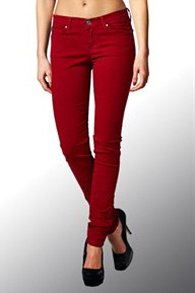 Angry Rabbit Jeans (in Red-Ankle)