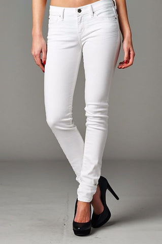 "Angry Rabbit ""3D"" white jeans"