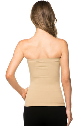 The Perfect Strapless Cami (various colors)