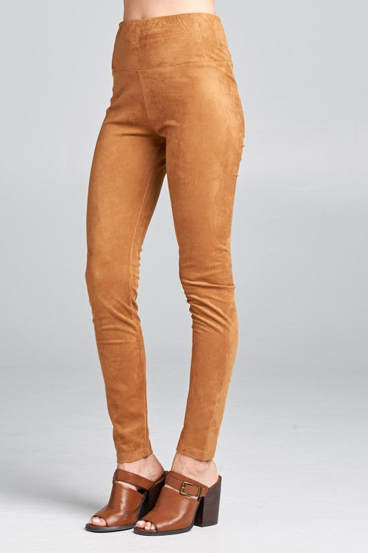 Rutherford Suede Pants