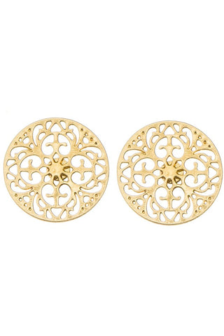 Pandora Post Earrings