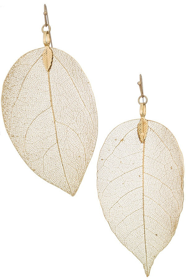 Lucky Leaf Earrings