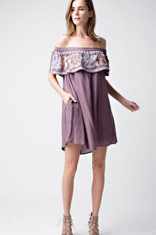 Jesse Off Shoulder Dress