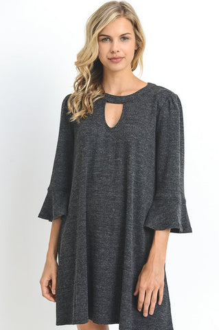Dartmouth Charcoal Dress
