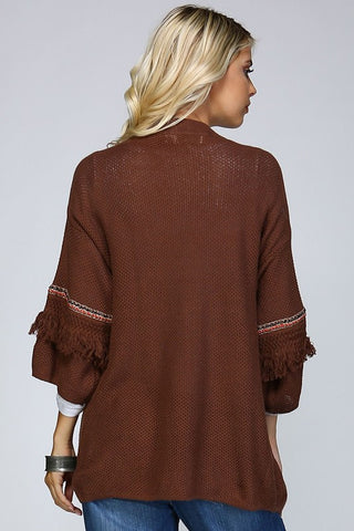 Fringe on Fourth Cardi