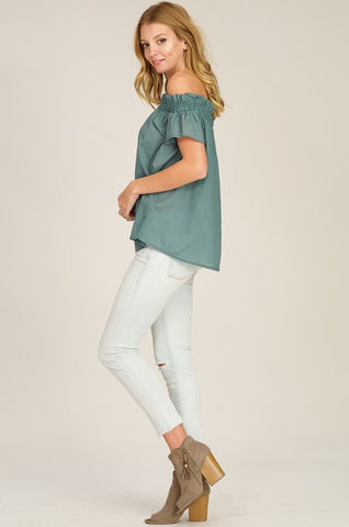 Caro Shoulder Top