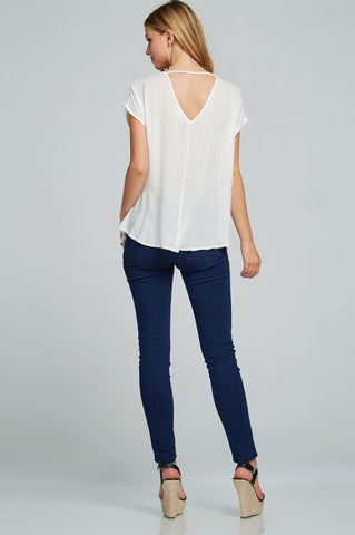 Woodstock Peasant Top