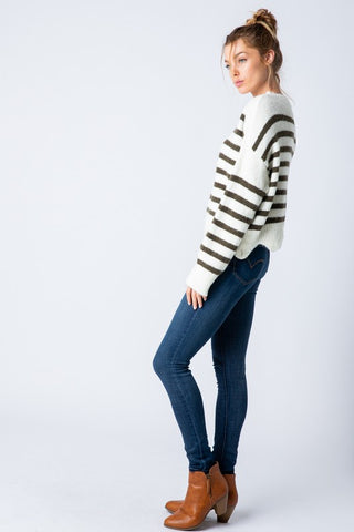 Gemma Striped Sweater