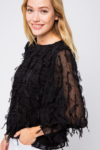 Meritage Feathered Top