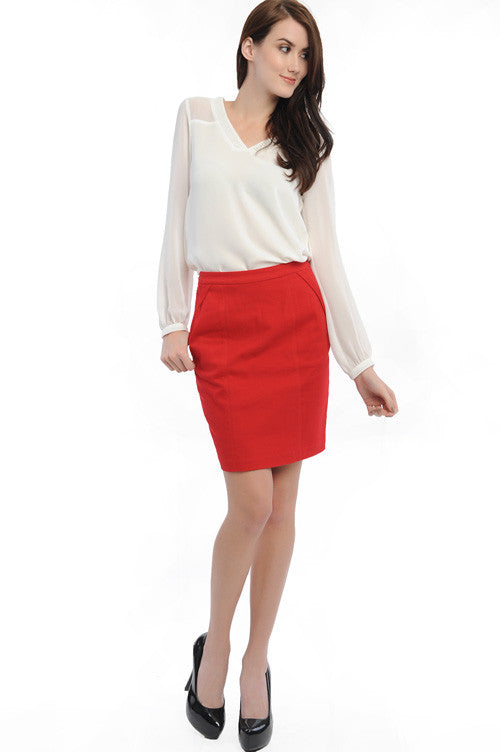 Heartbreaker Pencil Skirt