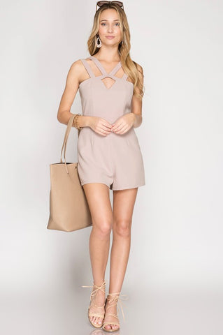 Pink Sands Beach Romper
