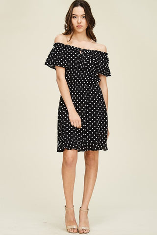 Darby Dotted Dress