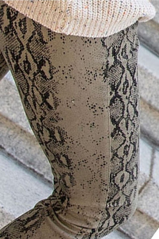 Tensley Snakeskin Pants