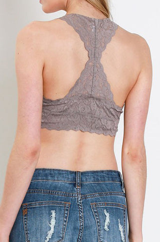 Rebel Lace Bralette (various colors)