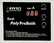 Load image into Gallery viewer, Dual Poly Pro Water Bath RS-PB-200 Control panel-2 - Copy