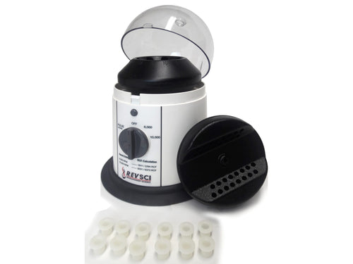 RS-102 micro centrifuge with rotors and adaptors