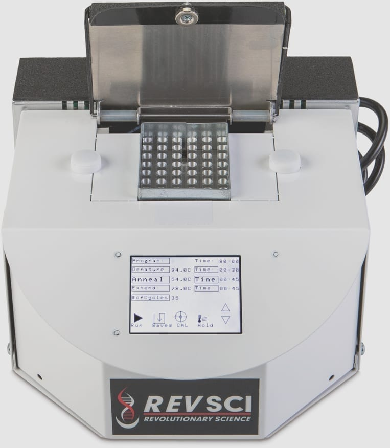 PCR Machine with touch screen display