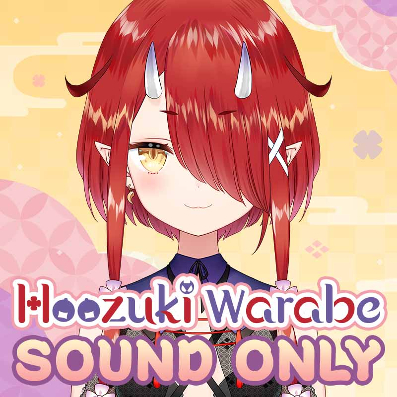 "[20210401 - ] ""Hoozuki Warabe First private voice"" ASMR Situation Voice (Are you going for a night walk with your grandma?)"