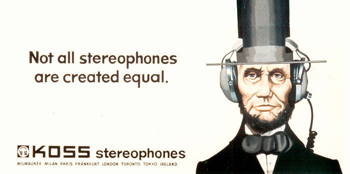 Not All Stereophones are Created Equal billboard