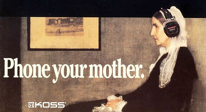 Phone Your Mother billboard