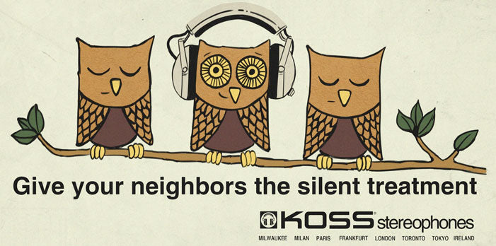 Give Your Neighbors the Silent Treatment billboard