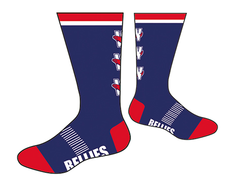 Salmonbellies Socks