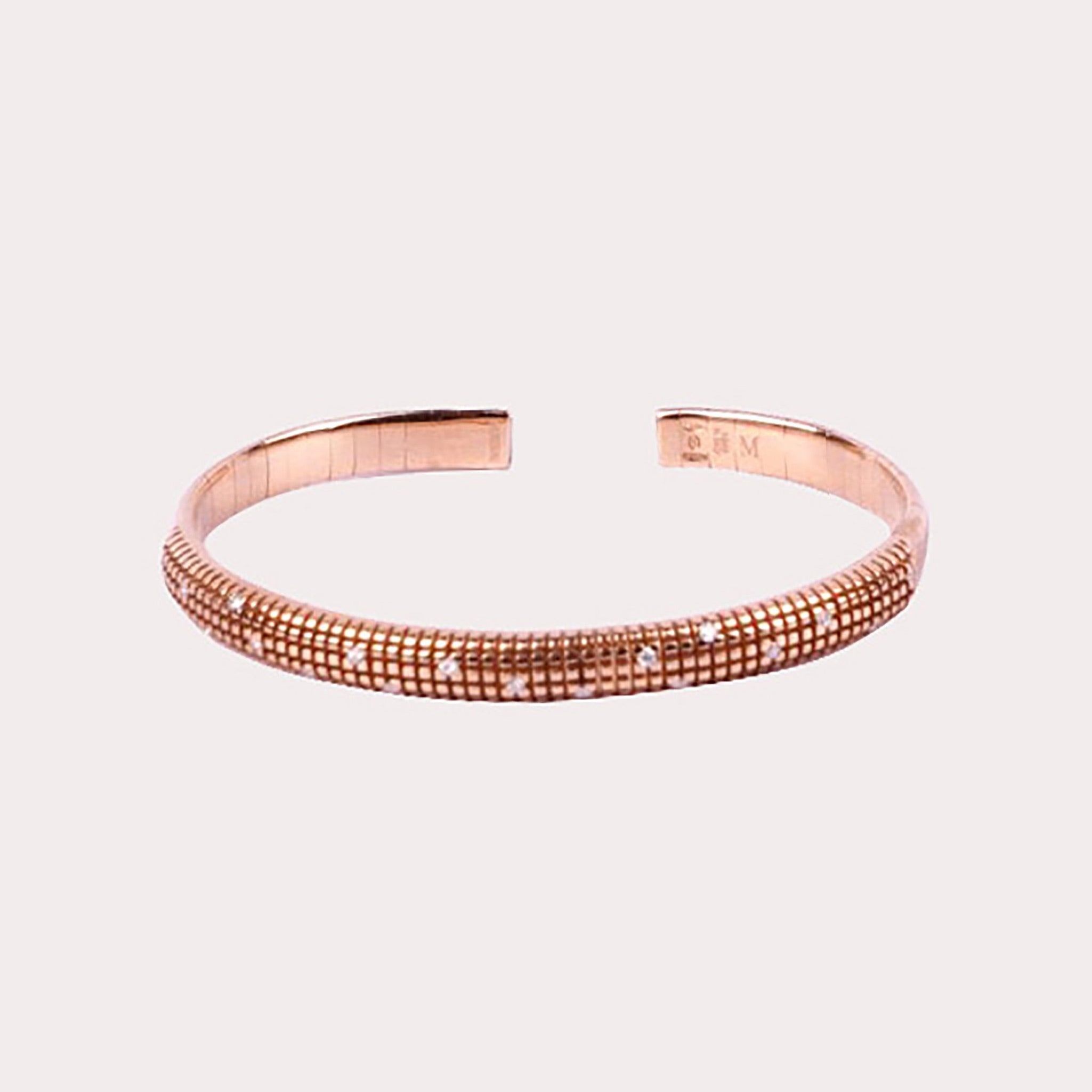 Rose Gold Bracelet with Diamond
