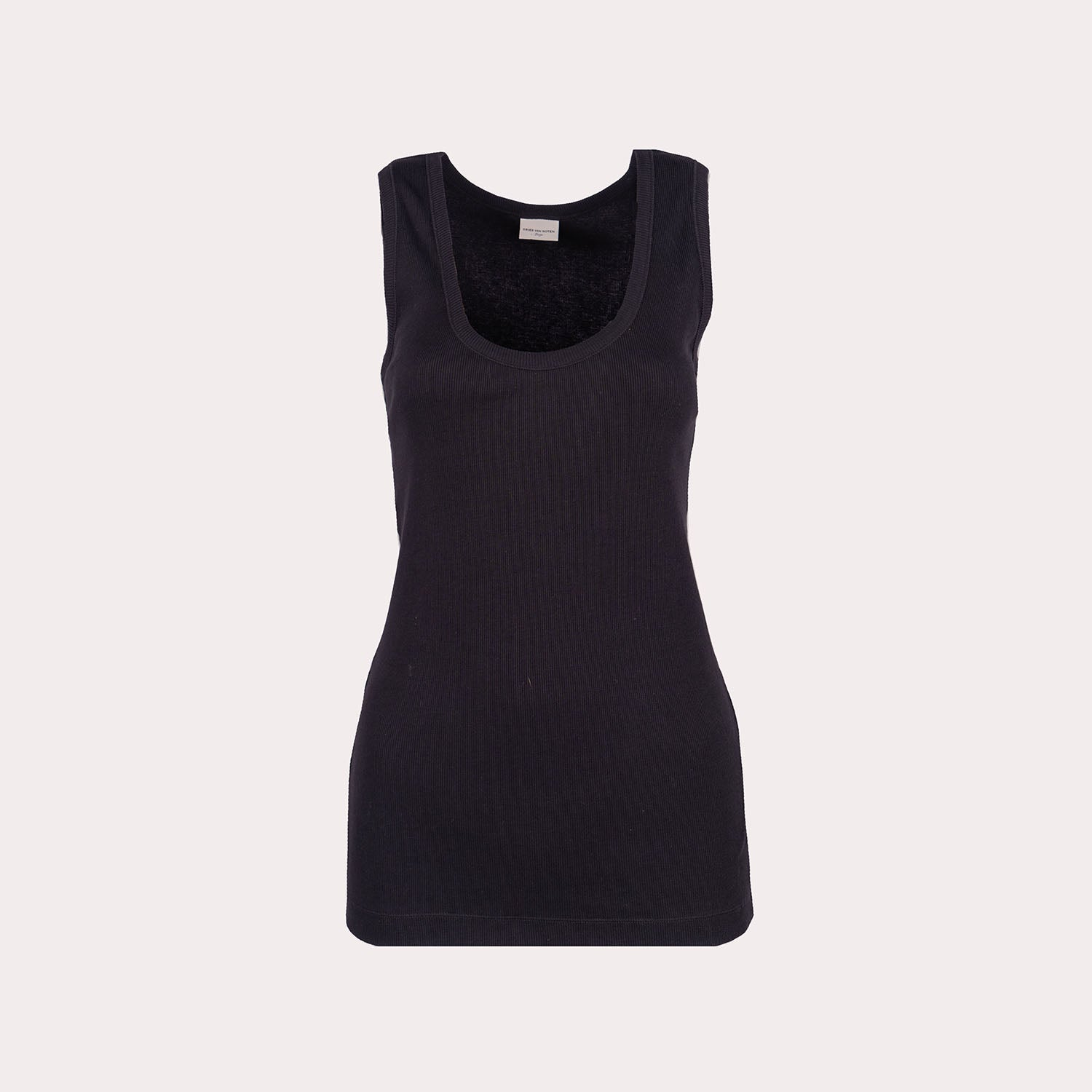 Sleeveless Form-Fitting Top