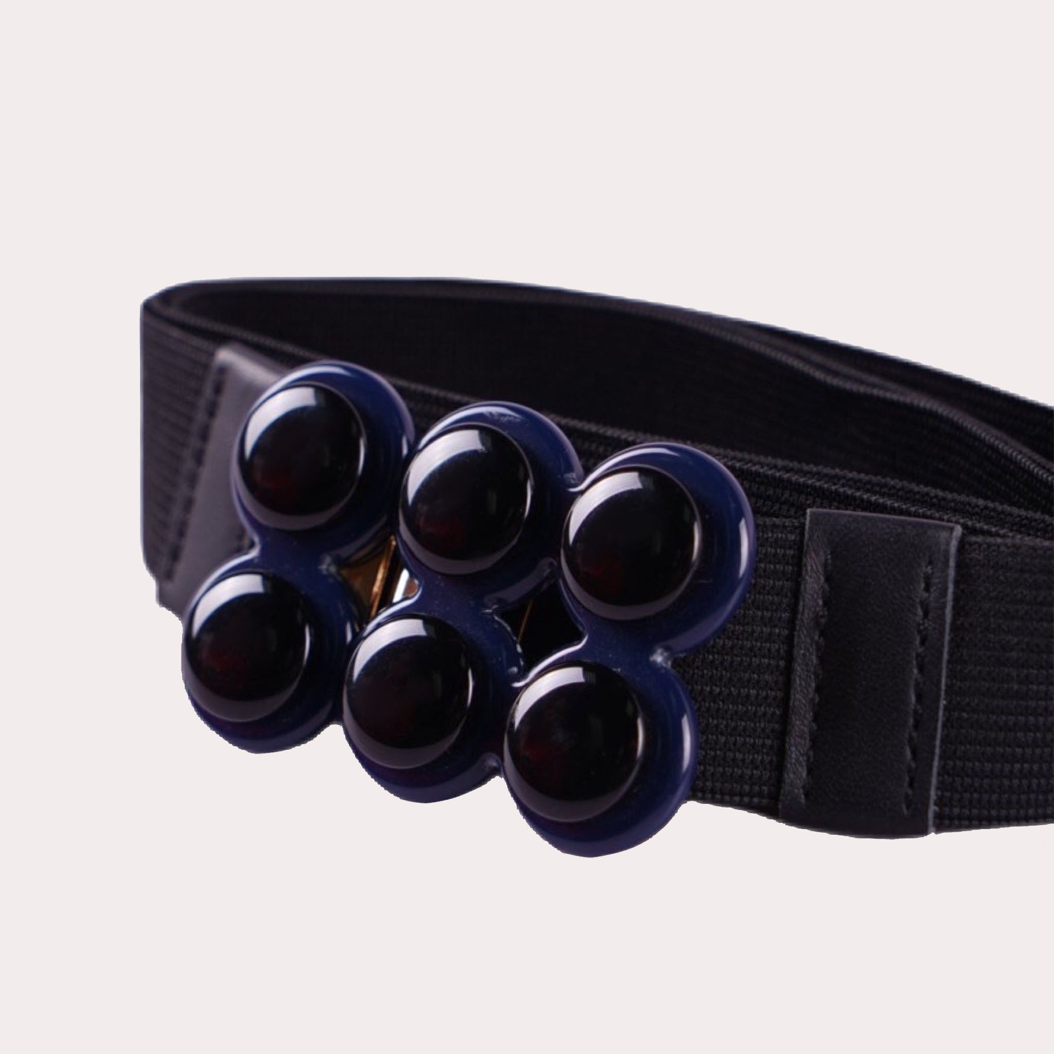 Elastic Belt With Hook Closure