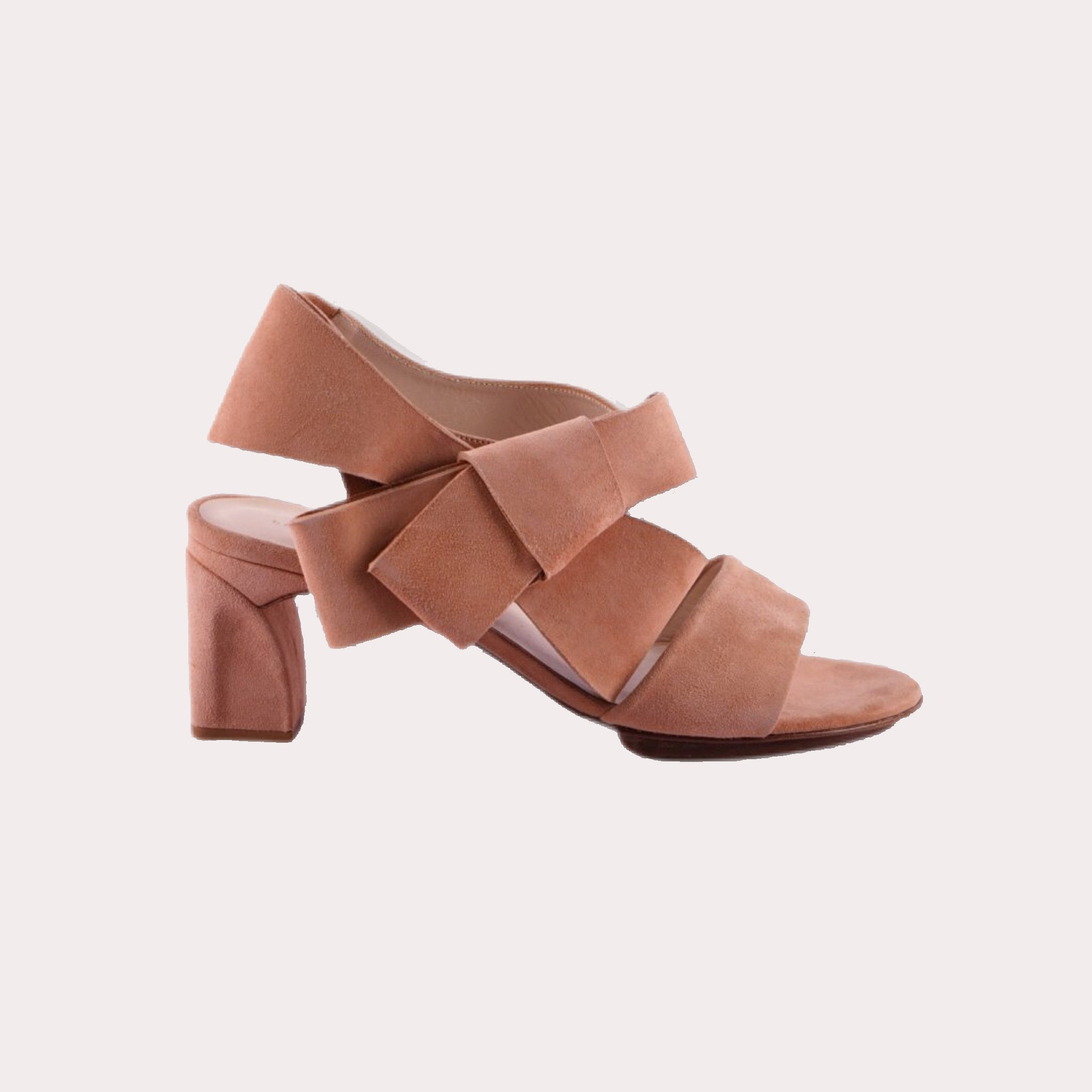 Bow Sandal with High Heel