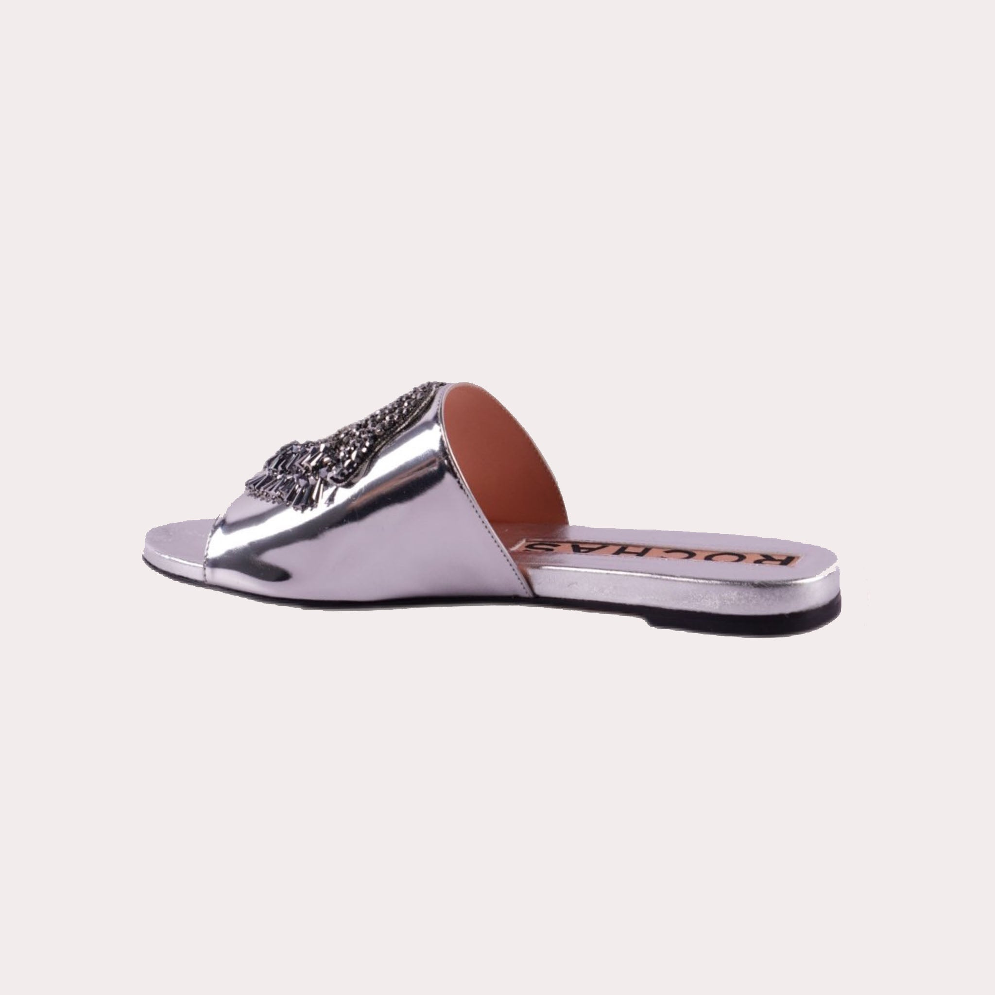 Metallic Embellished Slides